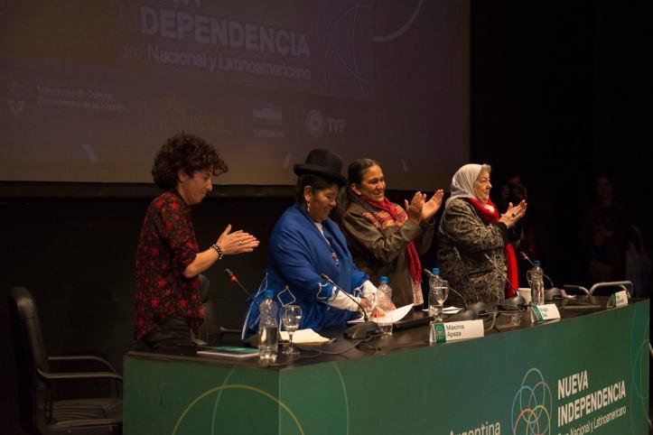 Sala, en un foro en Tucumán, es candidata al Parlasur.