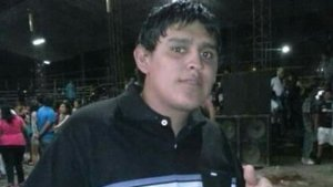 Ariel Velázquez, el joven baleado por la espalda el día 8 de agosto. Hoy murió