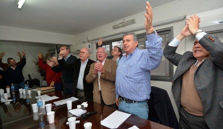 Instancia del Congreso del PJ, tras la proclamación de la fórmula Fellner-Jenefes