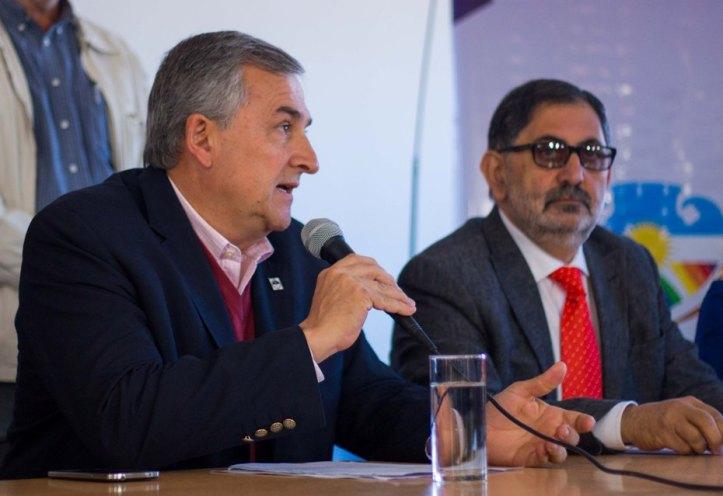 Morales habla durante la presentación de la candidatura de Chuli