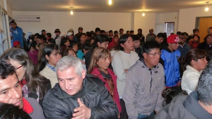 Un grupo de los jóvenes peronistas que ahora apuestan por el Cambio