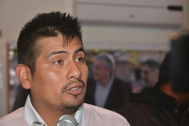 Diego Bustamante, vocero de la JP