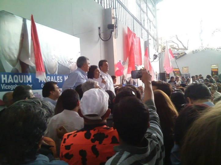 Massa y Morales en el Sindicato de Azucareros de Ledesma