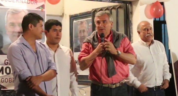 Gerardo en el nuevo comité de Pampa Blanca