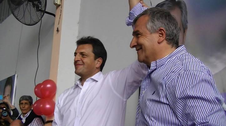 Massa y Gerardo en el Sindicato de azucareros del ingenio Ledesma