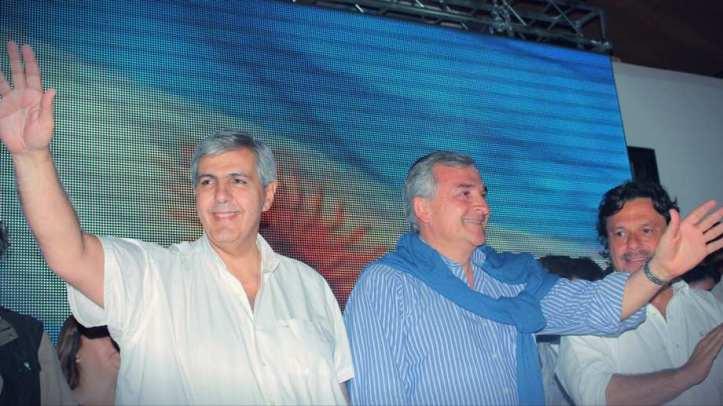 Acto donde se proclamó a Carlos Haquim como compañero de fórmula de Morales