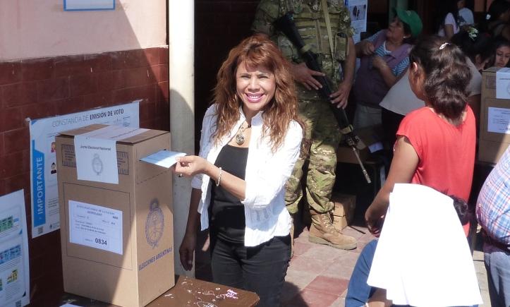 Votación de Alejandra Martínez