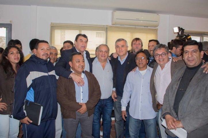 Los sindicalistas, en el Frente Cambia Jujuy
