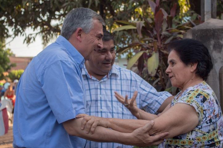 Gerardo Morales, en Yuto