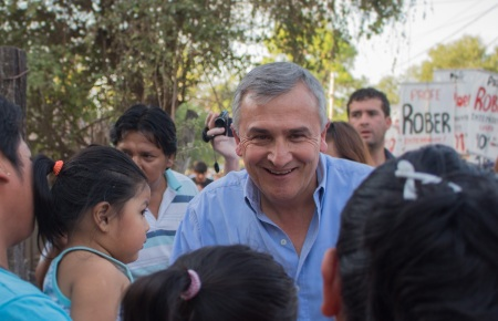 Gerardo Morales en Yuto