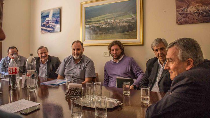 Morales con industriales y empresarios