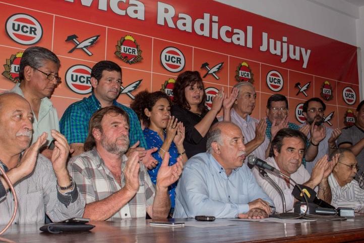 Los radicales anunciaron el triunfo de Macri en Jujuy