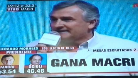 La victoria de Macri en #Jujuy ratifica el liderazgo de GerardoMorales
