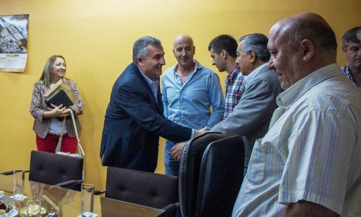 Morales saluda a los productores