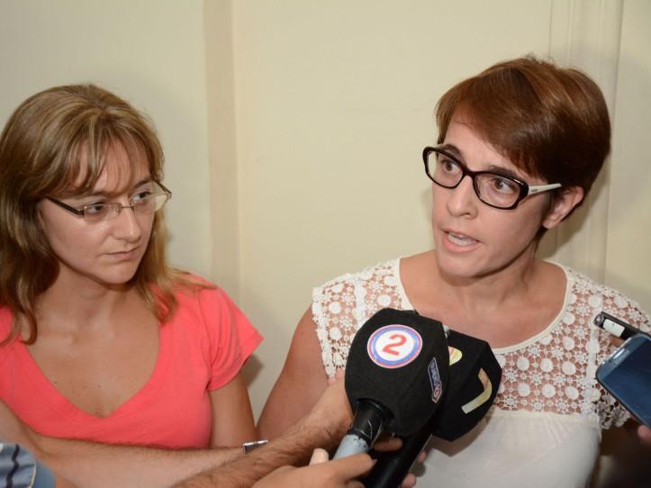 Gabriela Burgos y Gabriela Albornoz, diputadas nacionales por Jujuy
