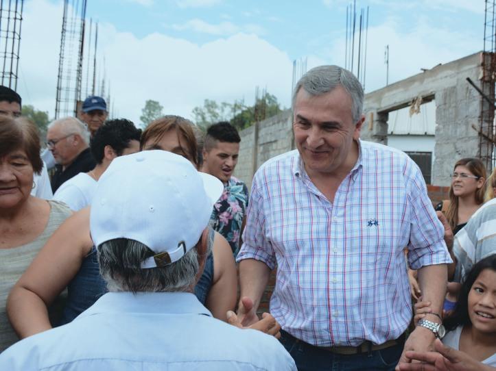 Morales dialoga con los cooperativistas de Palpalá.