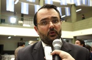 Lisandro Aguiar, presidente del Bloque de Concejales dela UCR
