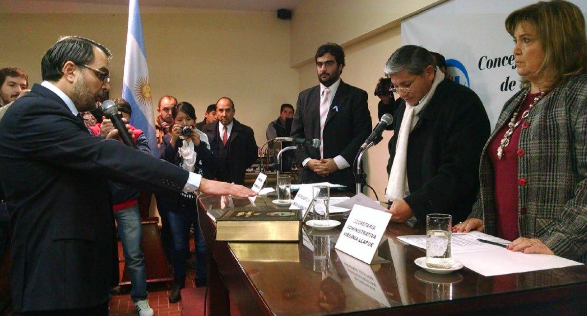 Aguiar asumió la presidencia del Concejo Deliberante de San Salvador de #Jujuy