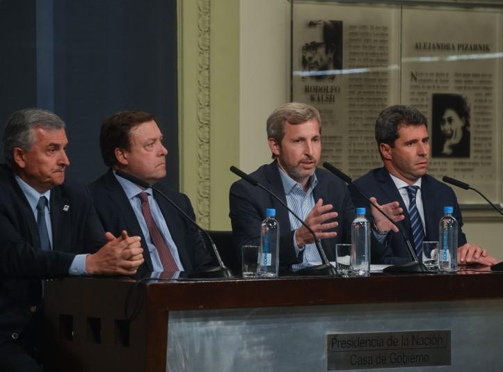 Morales, en la conferencia de prensa