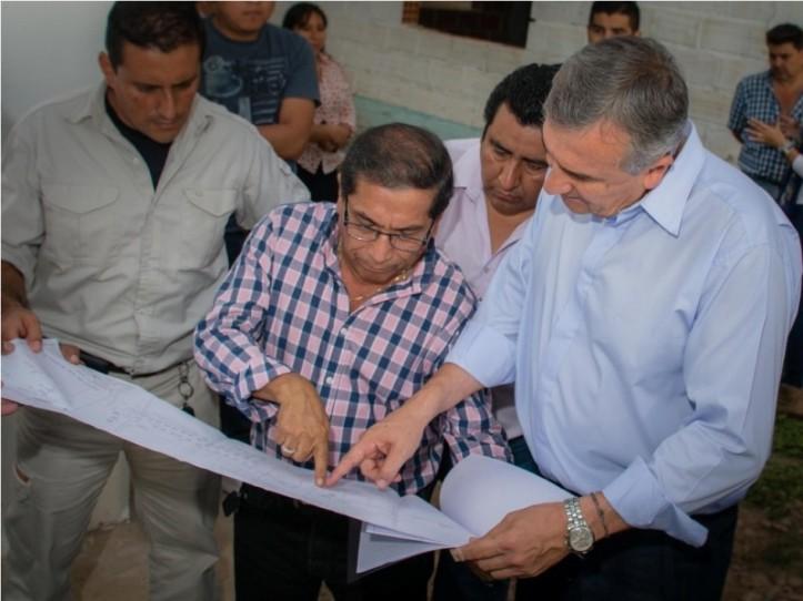 Morales con Galarza