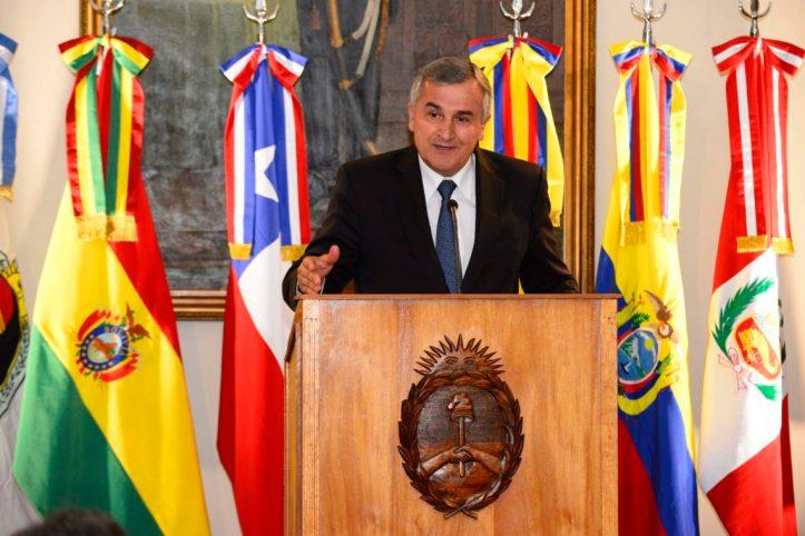 Morales realiza la presentación