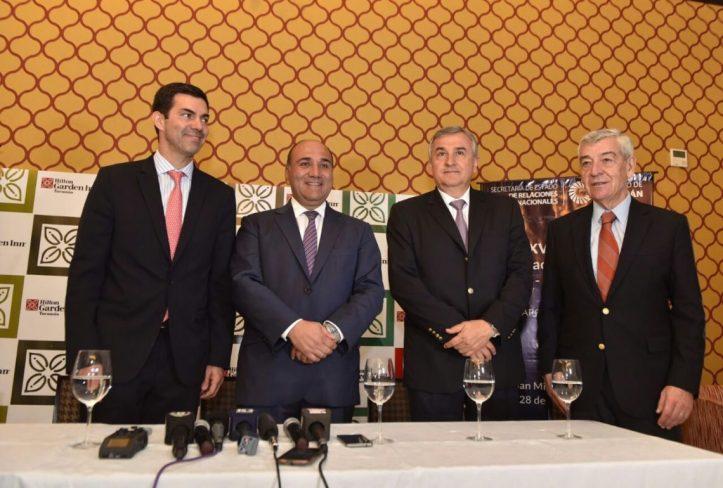 Morales, en Tucumán, junto a autoridades de la región NOA y de Chile