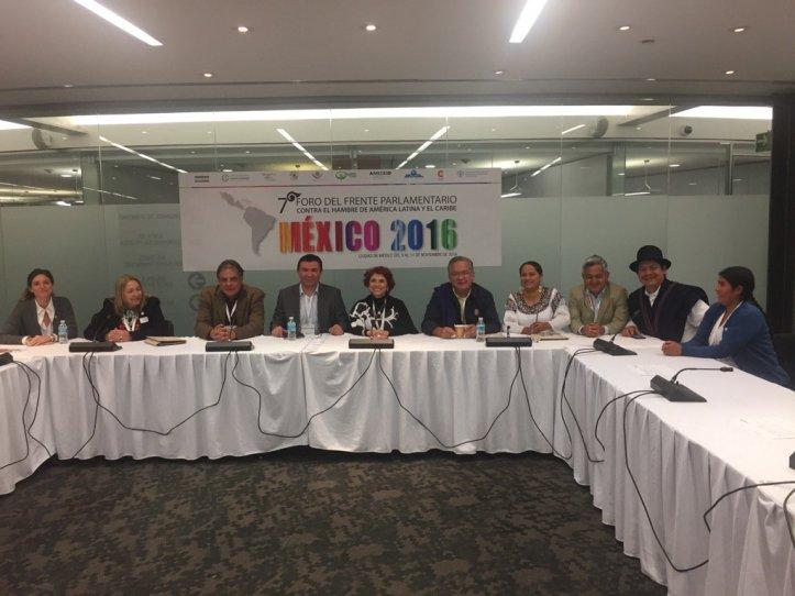 Silvia Giacoppo, de Jujuy, en el encuentro parlamentario