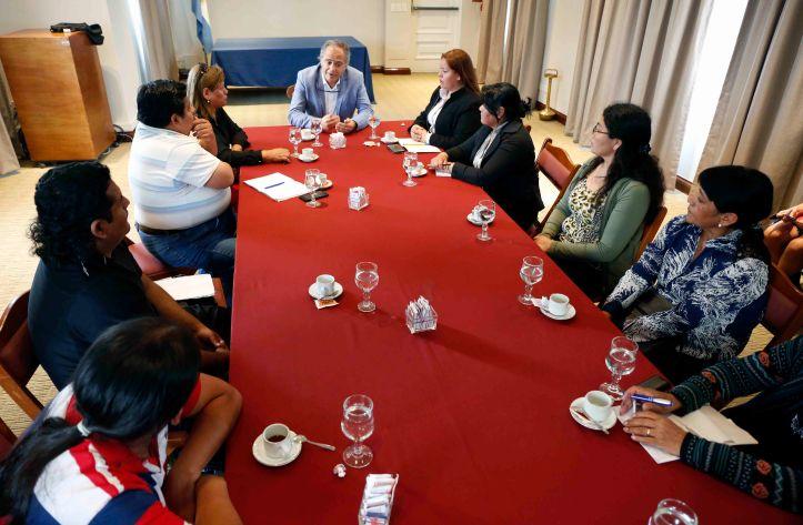 Víctimas de Milagro Sala reunidas con autoridades del Ministerio de Justicia de la Nación