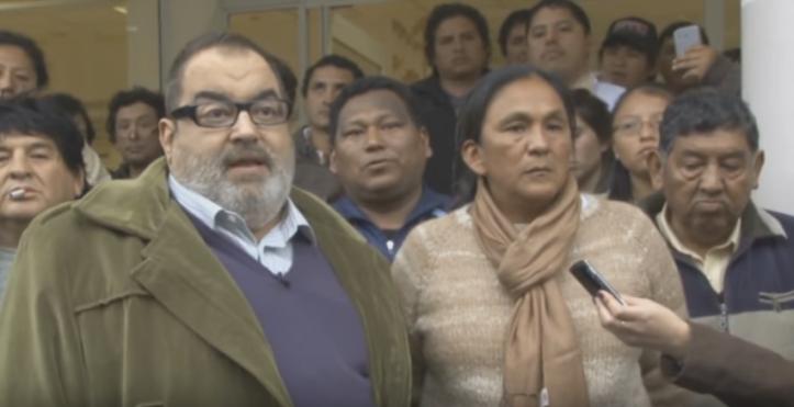 """""""""""somos bueno"""", le cantó la Tupac Amaru a Lanata en 2012. Luego, una organización aliada, asesinaría a un joven en Humahuaca."""