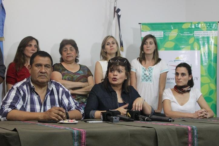 La ministra Zigarán anunció mayor presupuesto para bosques nativos
