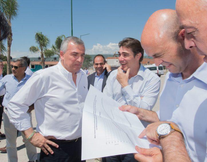Gerardo Morales y el ministro Dietrich