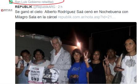 El twit del gobierno de san luis, se suma a las ridiculeces de su pasayesco gobernador