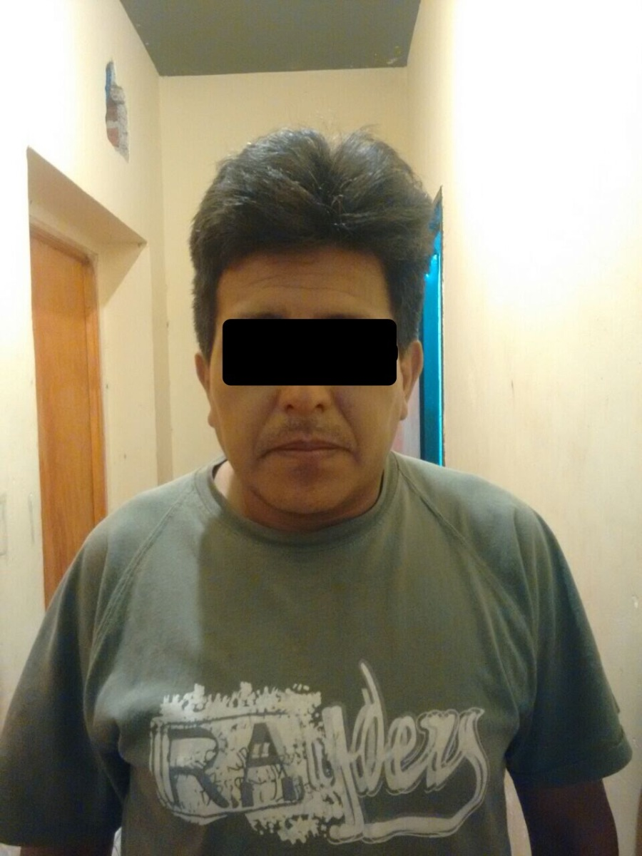 Detienen a pervertido de 41 años que acosaba a niña de 13 por WhatsApp